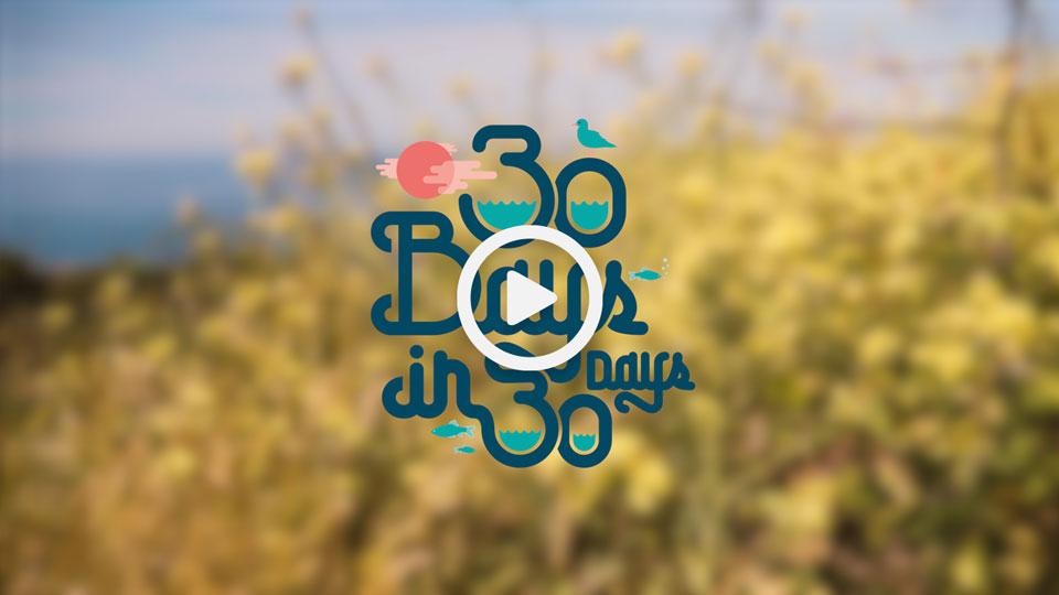 30 bays in 30 days swimming documentary film